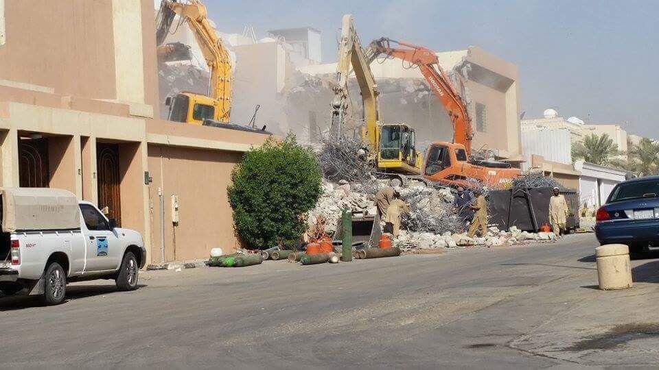 شركة هدم المباني في الرياض